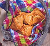 Пирожки с ореховой начинкой