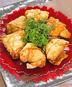 Пирожки с рыбой по-арабски