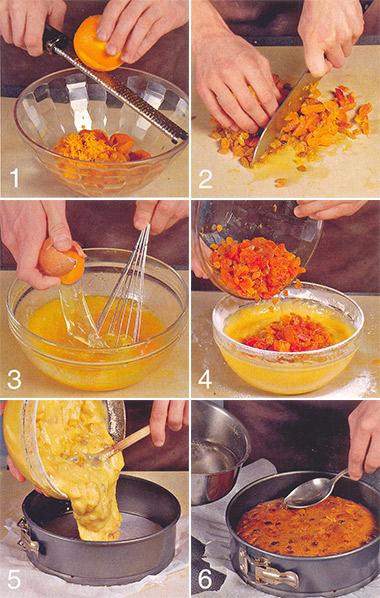 кекс с сухофруктами - пошаговое фото