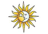 Ориентирование по солнцу, луне и звездам