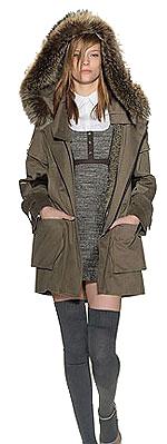 Парка - как одеваться тепло и выглядеть элегантно