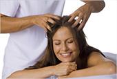 Массаж волосистой части головы