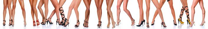 Самые удобные виды женских каблуков