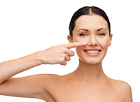 Определите болезнь по цвету носа